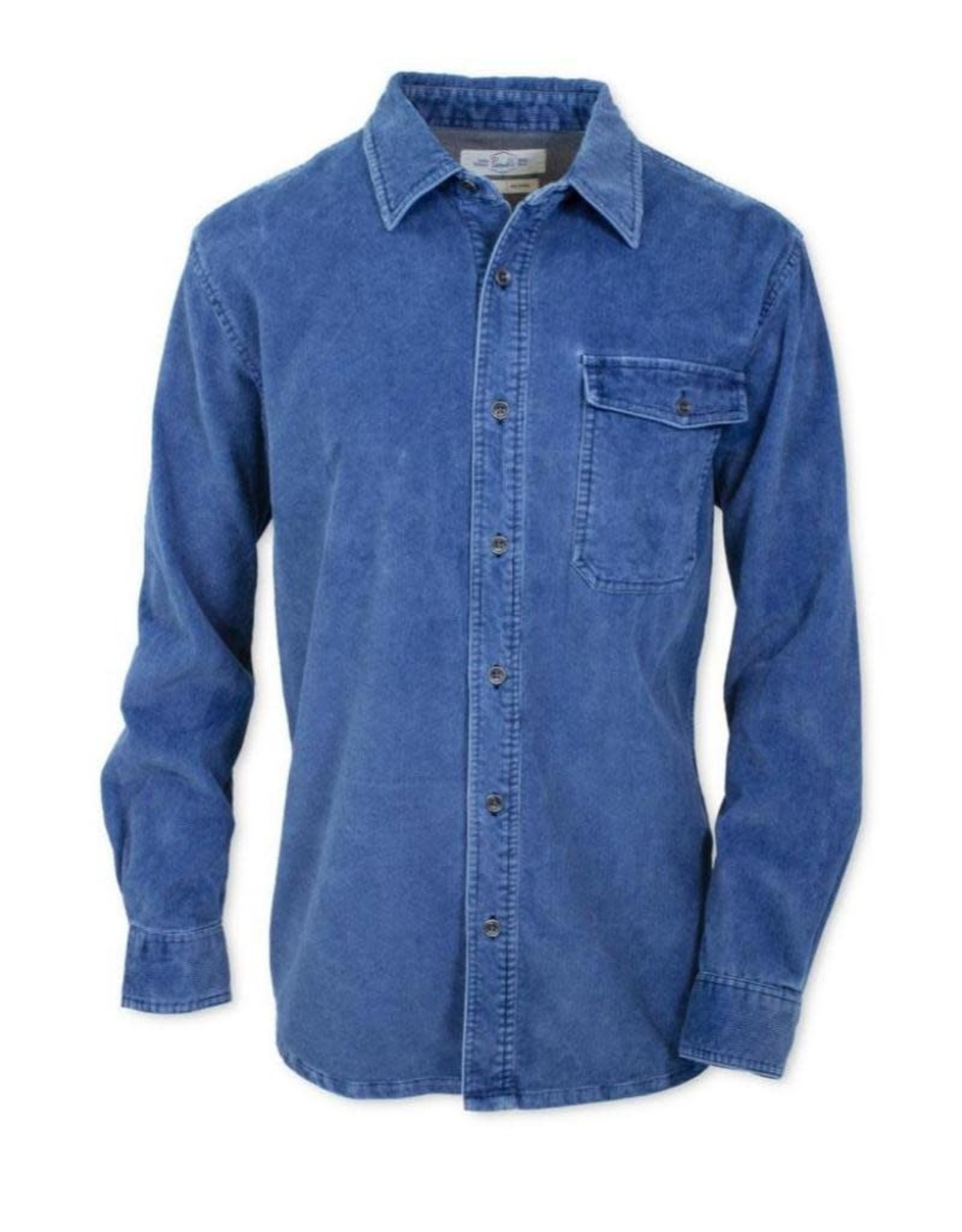 Purnell Men's Washed Corduroy  Shirt