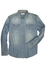 Dakota Grizzly Fremont Long Sleeve Denim Shirt