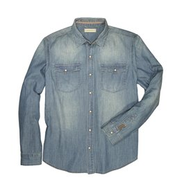 Dakota Grizzly Fremont Long Sleeve Denim Shirt