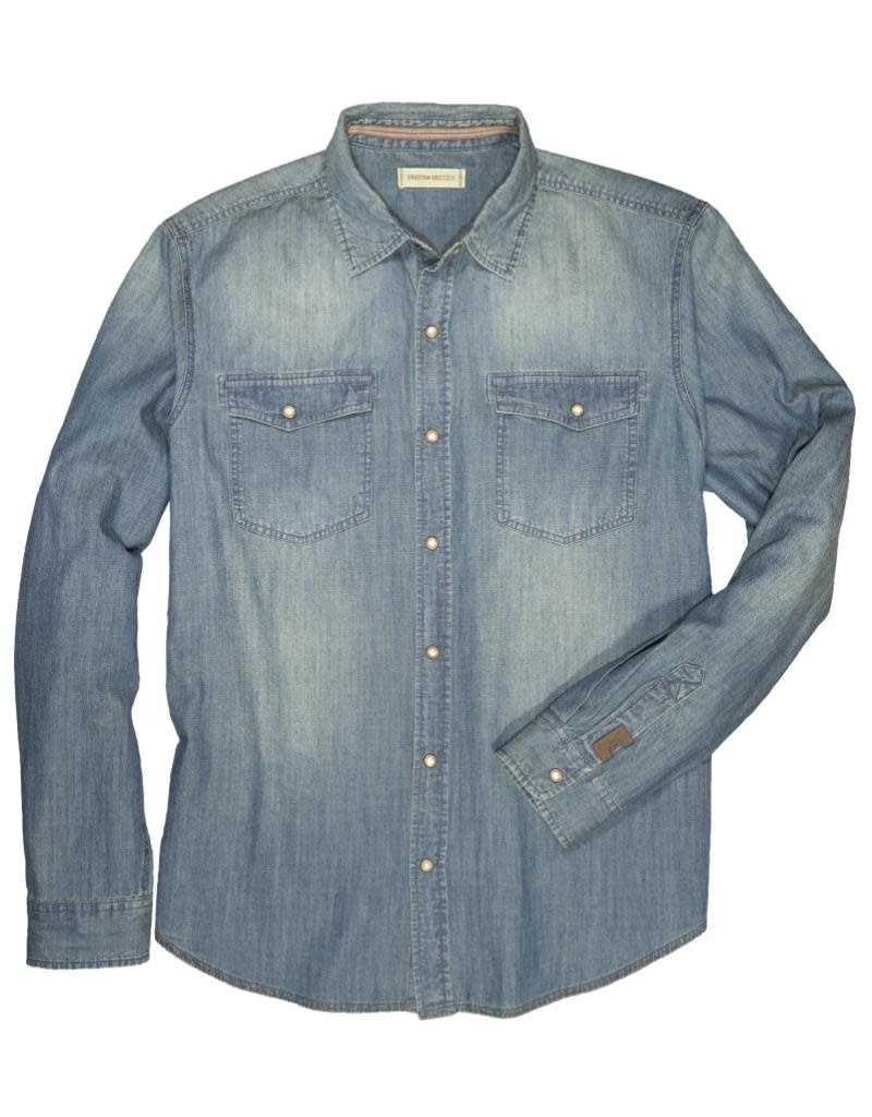 Dakota Grizzly Men's Fremont Long Sleeve Denim Shirt