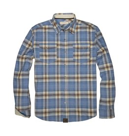Dakota Grizzly Riley Snap Long Sleeve Flannel Shirt