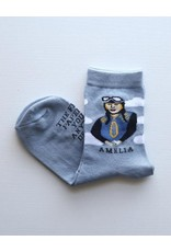 Maggie Stern Stitches Amelia Earhart Women's Ankle Sock