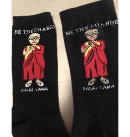 Maggie Stern Stitches Dalai Lama Women's Crew Socks