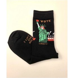 Maggie Stern Stitches Liberty Vote Women's Crew Sock