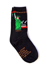 Maggie Stern Stitches Lady Liberty Women's Crew Sock