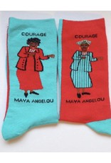 Maggie Stern Stitches Maya Angelou Women's Crew Socks