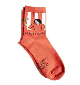 Maggie Stern Stitches Nancy Pelosi Women's Ankle Socks