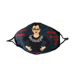 Maggie Stern Stitches Ruth Bader Ginsburg Mask