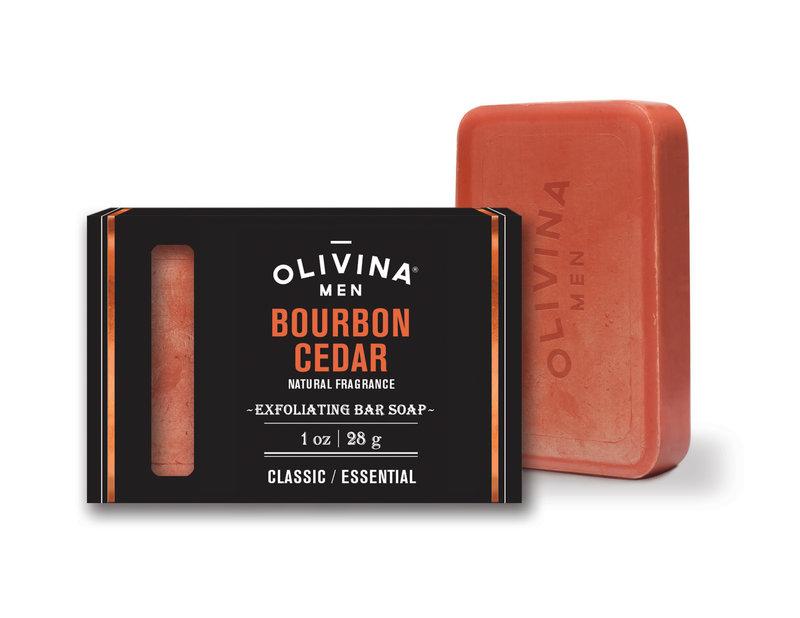 Olivina Men Exfoliating Soap Bar 6oz