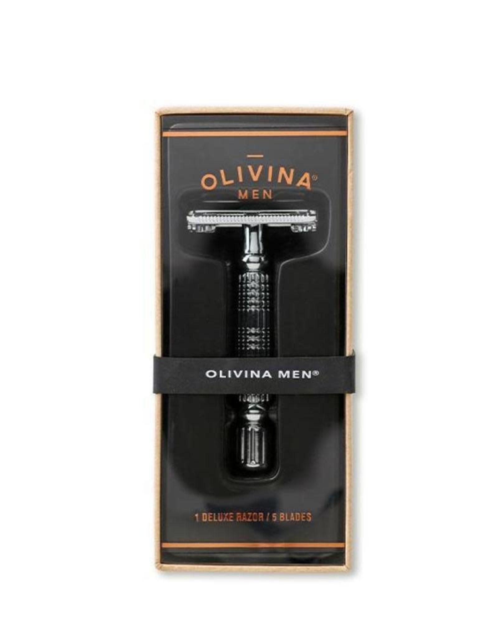 Olivina Men Safety Razor & Blades
