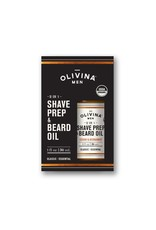 Olivina Men Shave Prep & Beard Oil