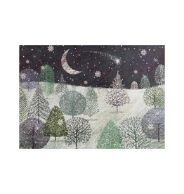 Peter Pauper A Midnight Clear Deluxe Boxed Holiday Cards