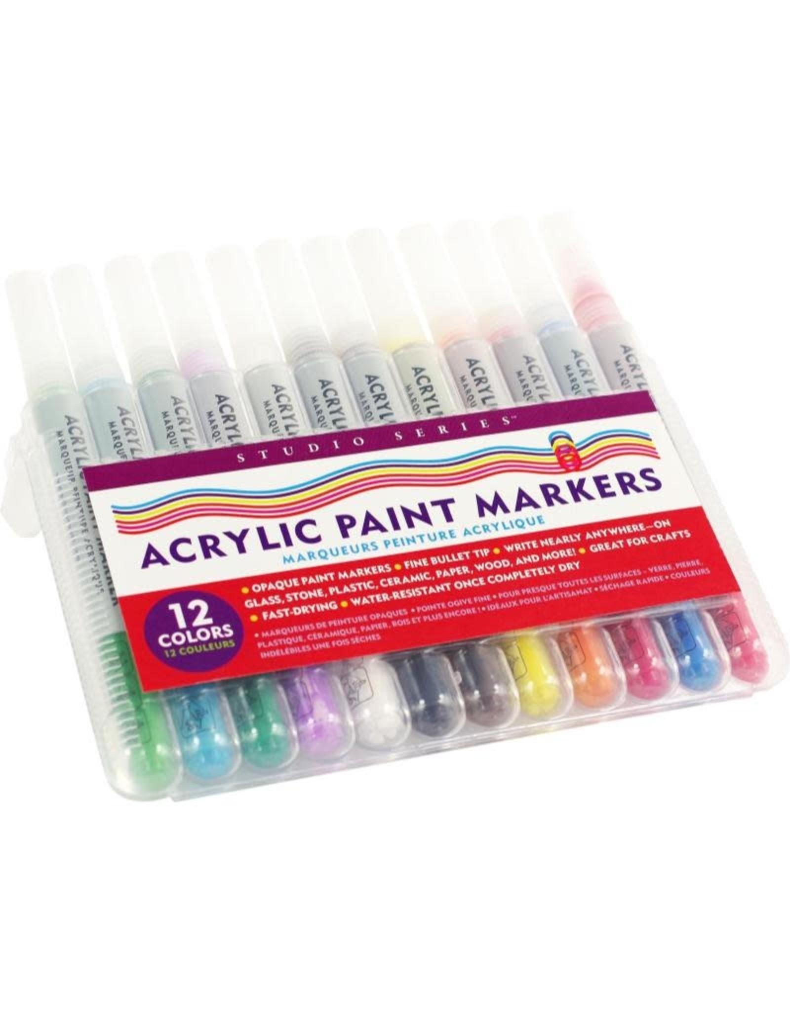 Peter Pauper Acrylic Paint Markers