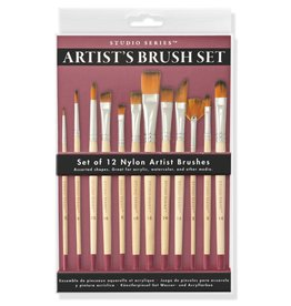 Peter Pauper Artist's Brush Set
