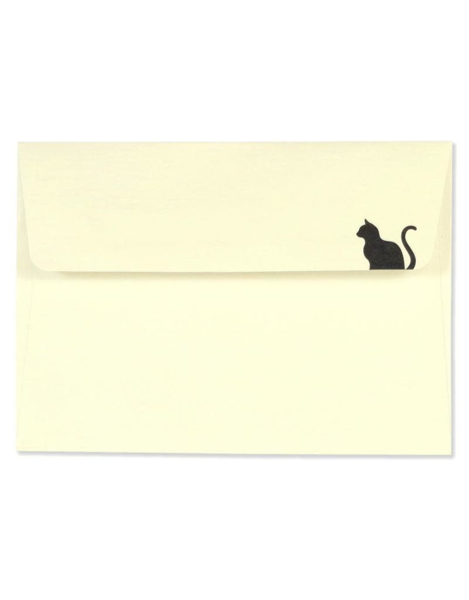 Peter Pauper Black Cat Boxed Note Cards