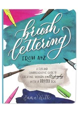 Peter Pauper Brush Lettering A To Z