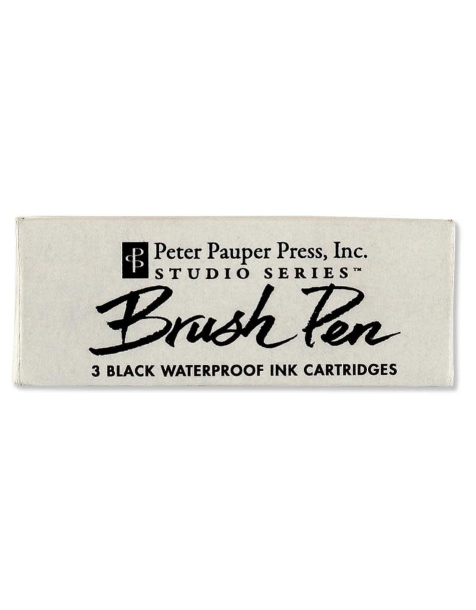 Peter Pauper Brush Pen Ink Cartridge