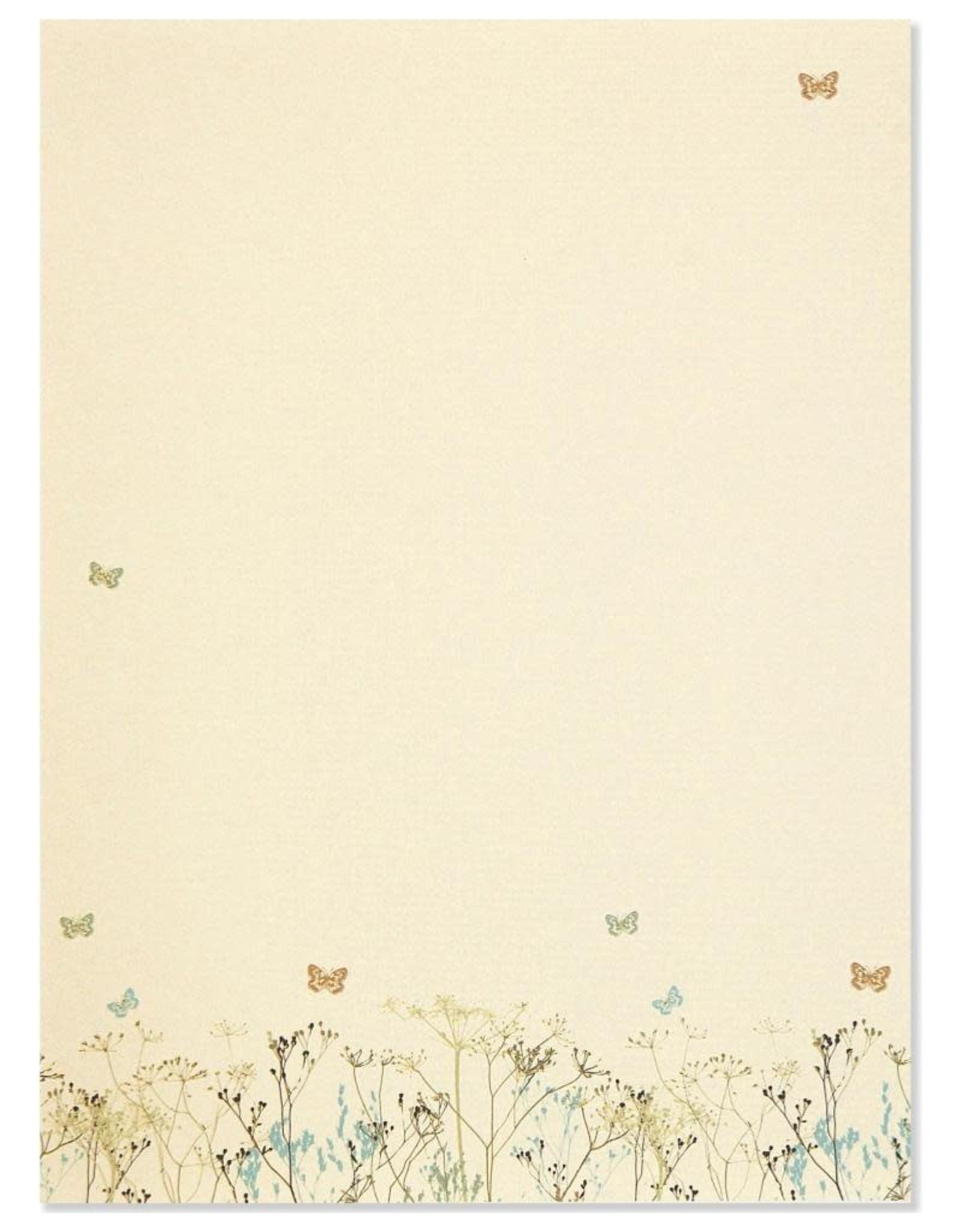 Peter Pauper Butterflies Stationery