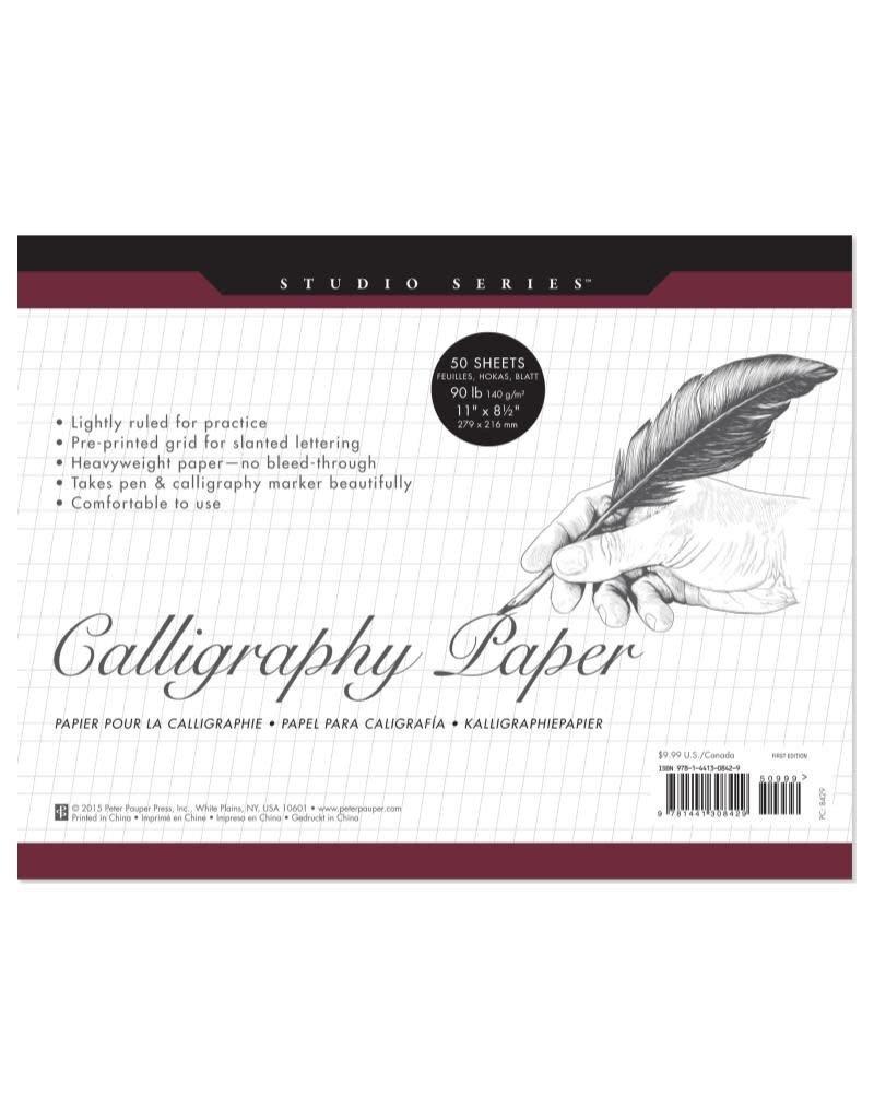 Peter Pauper Calligraphy Paper