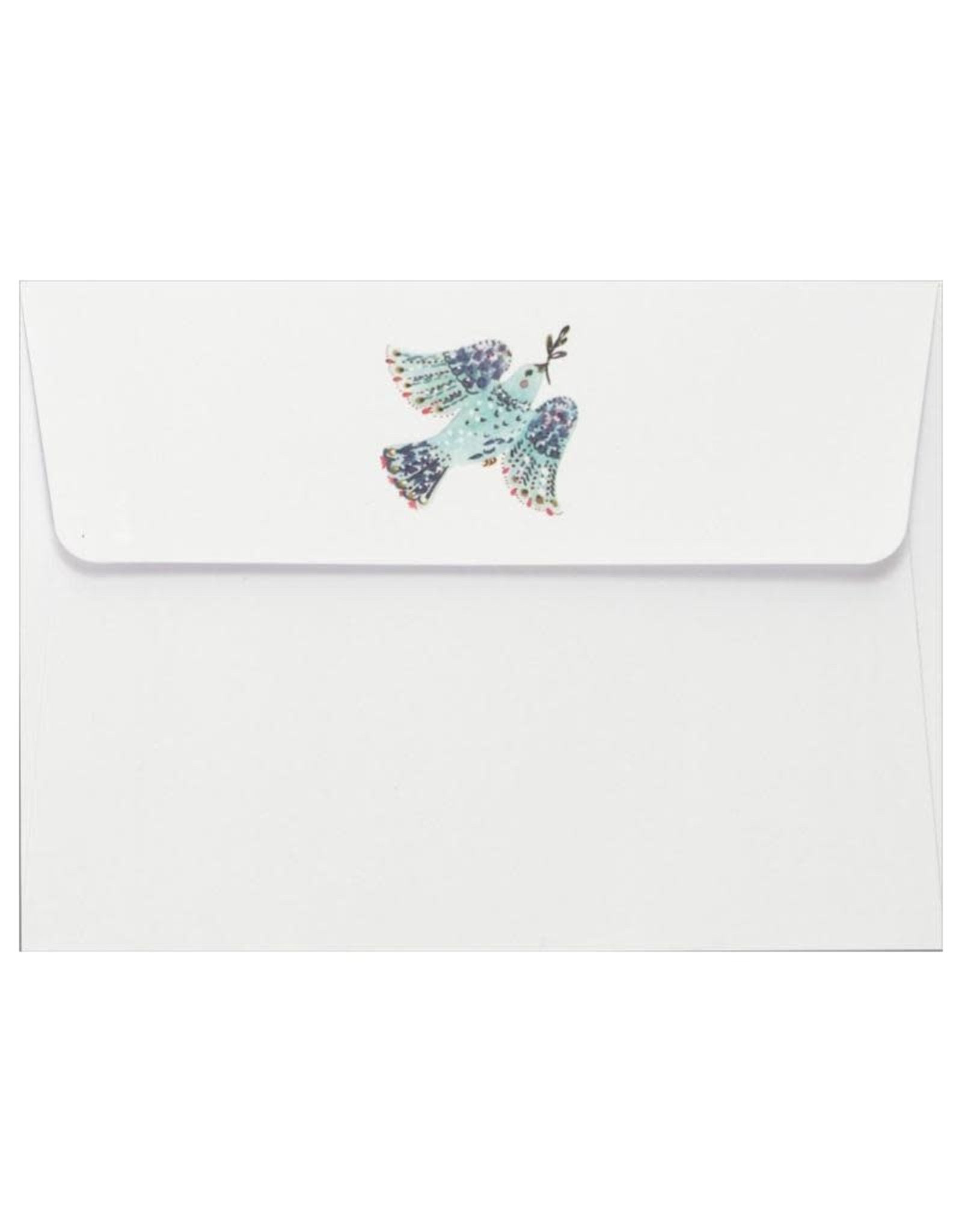 Peter Pauper Dove with Mistletoe Boxed Holiday Cards