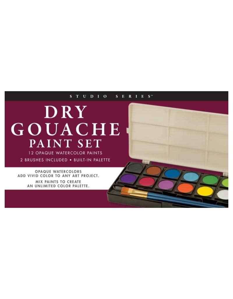 Peter Pauper Dry Gouache Paint Set
