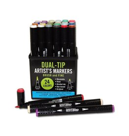 Peter Pauper Dual-Tip Artist Markers