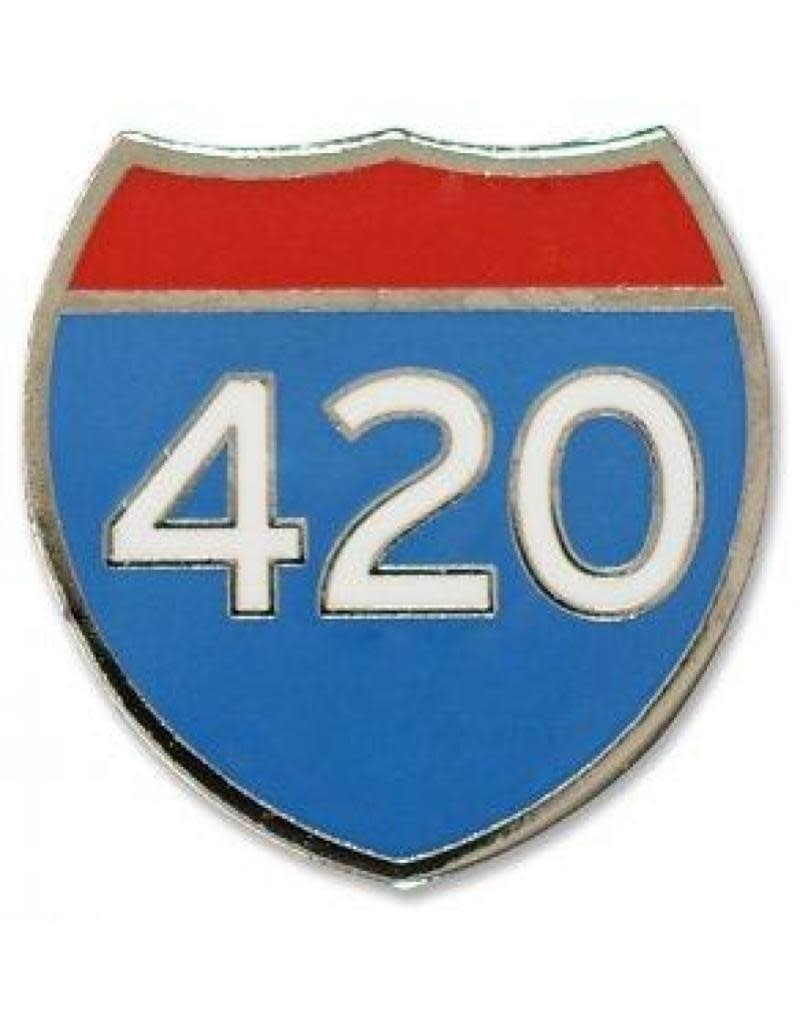 Peter Pauper 420 Enamel Pin