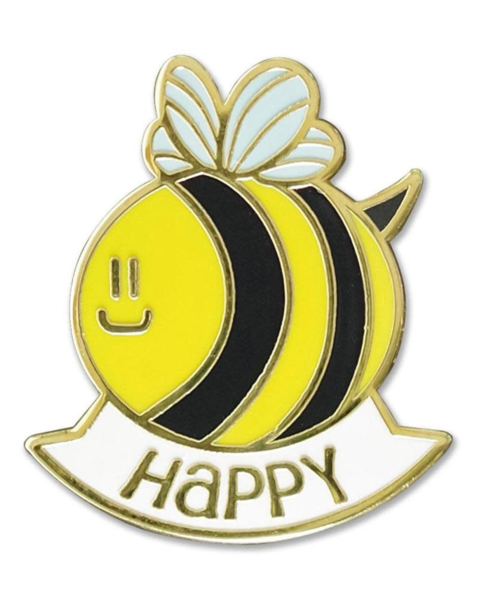 Peter Pauper Bee Happy Enamel Pin