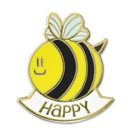 Peter Pauper Bee Happy Enamel Pin