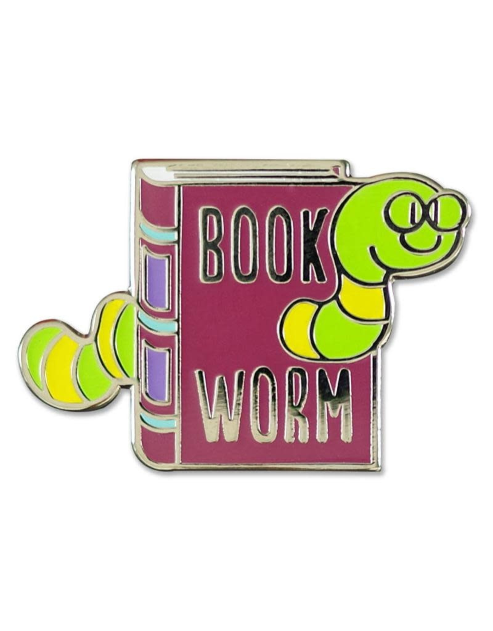 Peter Pauper Bookworm Enamel Pin
