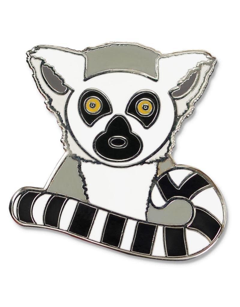 Peter Pauper Lemur Enamel Pin