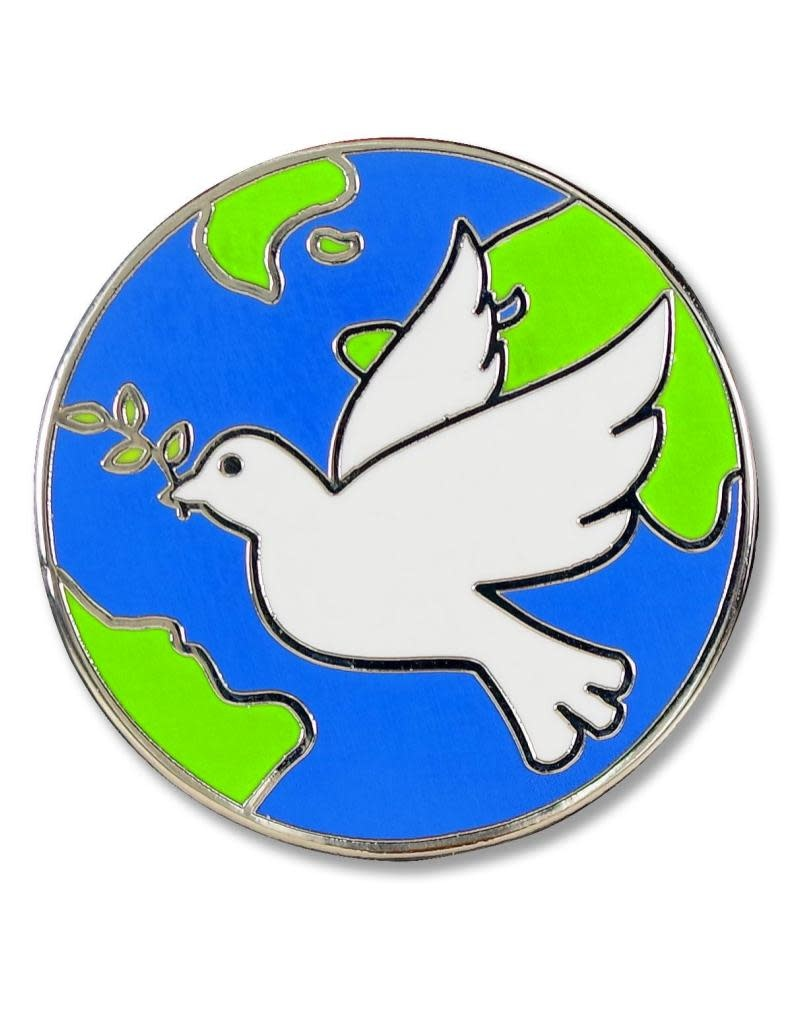 Peter Pauper Peace Dove Enamel Pin