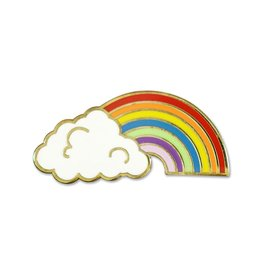 Peter Pauper Rainbow Enamel Pin