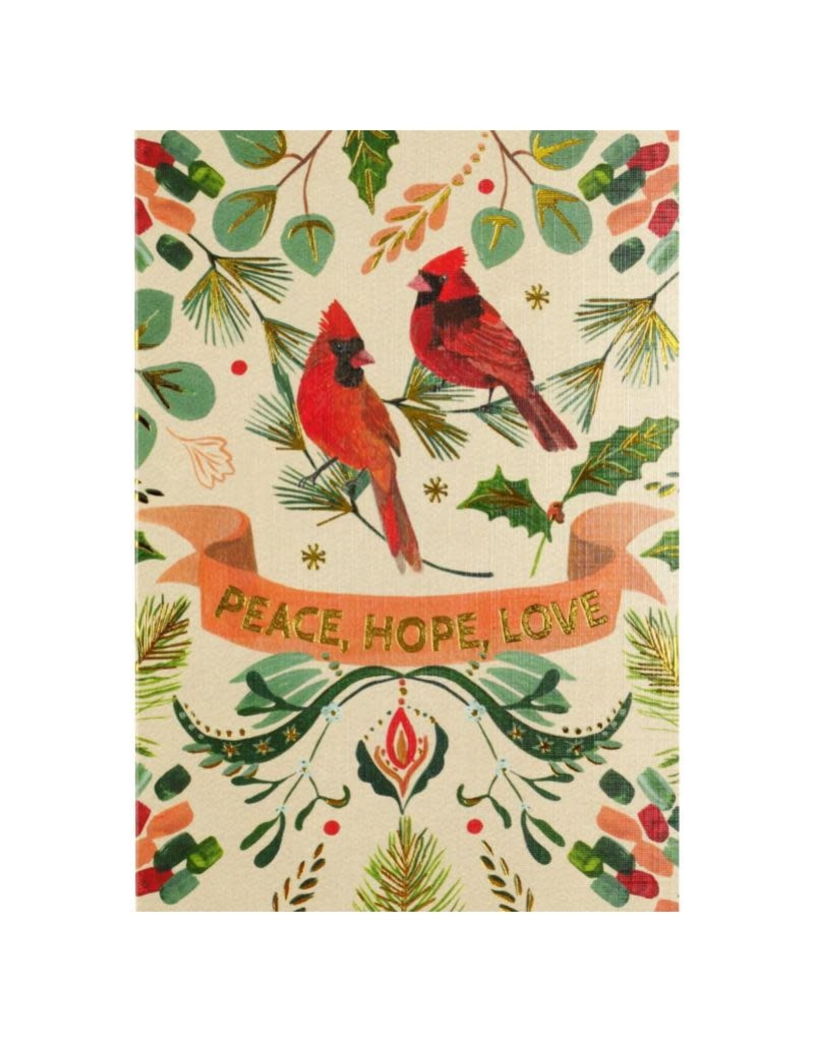 Peter Pauper Festive Cardinals Boxed Holiday Cards