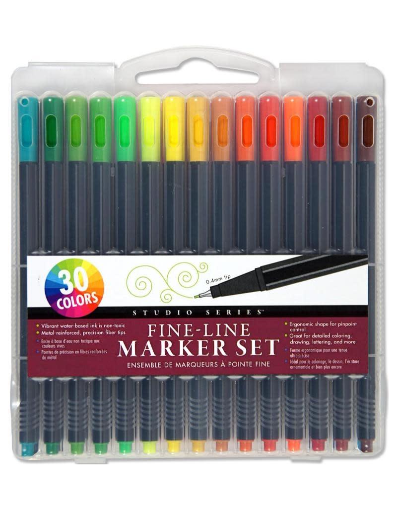 Peter Pauper Fine-Line Marker Set