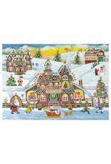 Peter Pauper Gingerbread Village Deluxe Boxed Holiday Cards