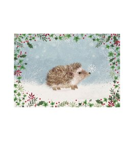 Peter Pauper Happy Hedgehog Boxed Holiday Cards