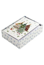 Peter Pauper Merry Evergreens Boxed Holiday Cards
