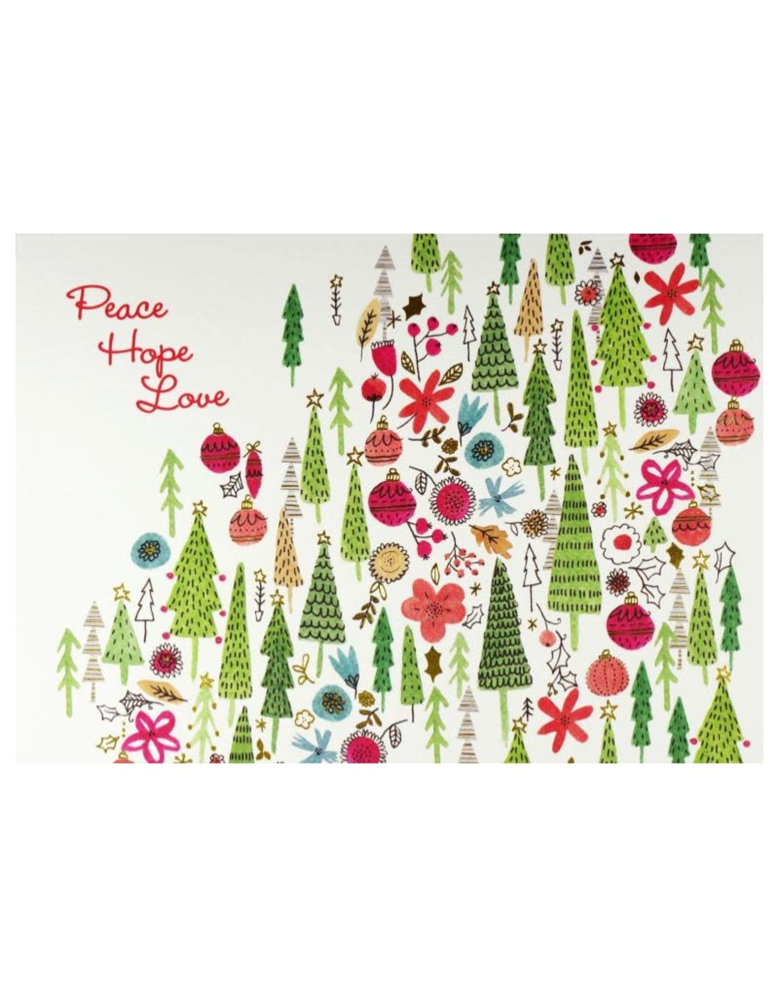 Peter Pauper Merry Medley Deluxe Boxed Holiday Cards