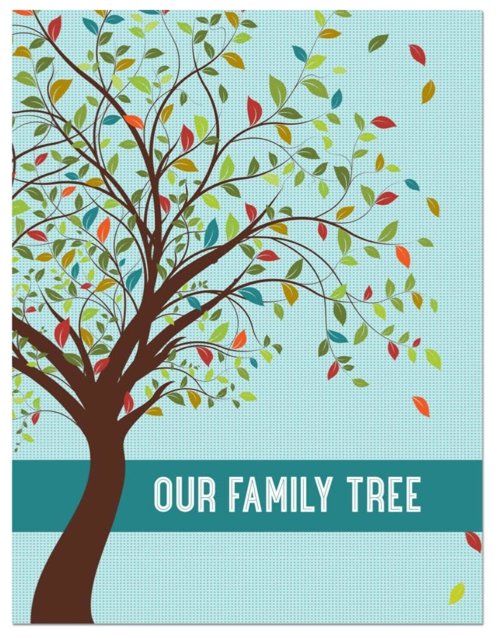 Peter Pauper Our Family Tree Book