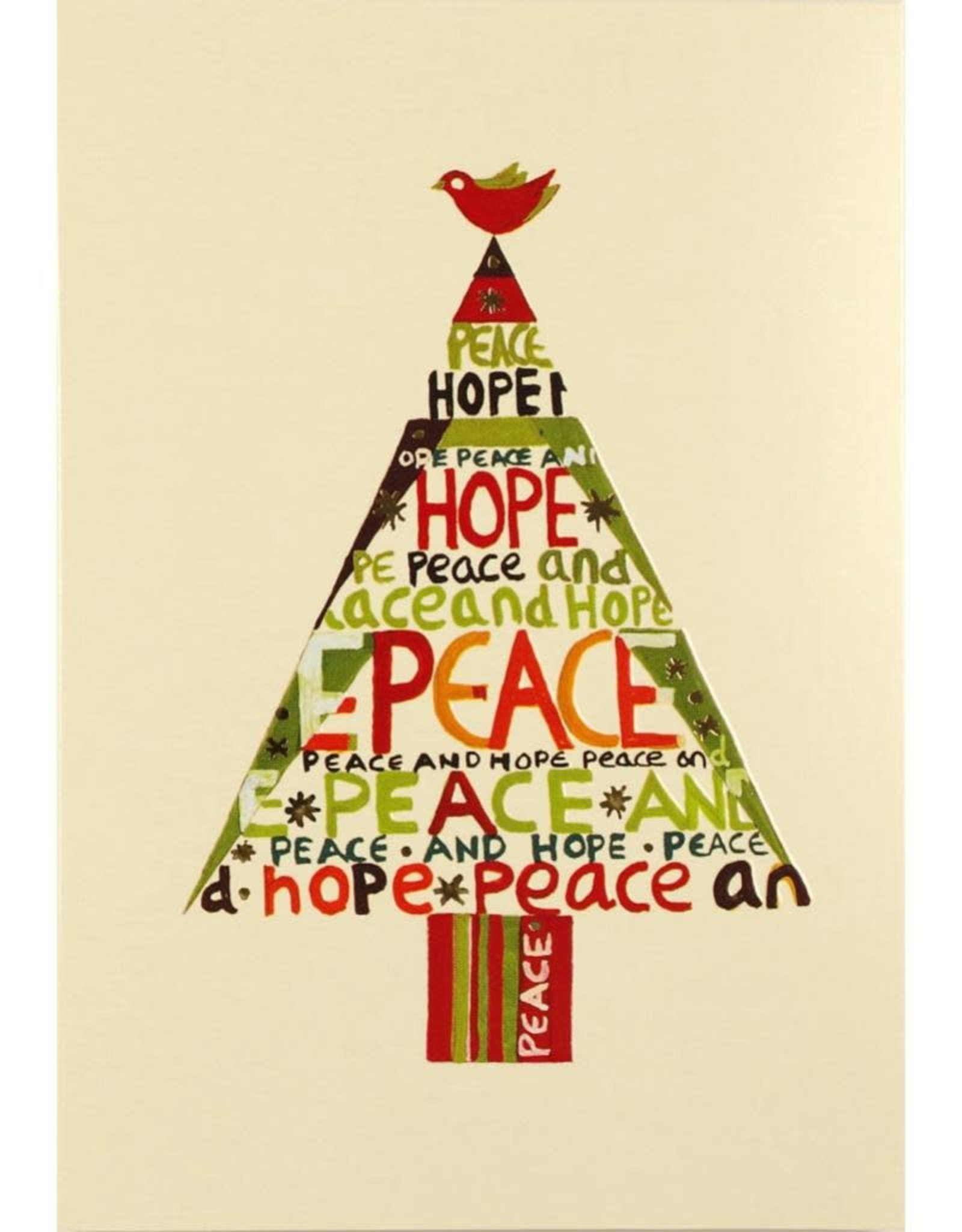 Peter Pauper Peace Hope Tree Boxed Holiday Cards