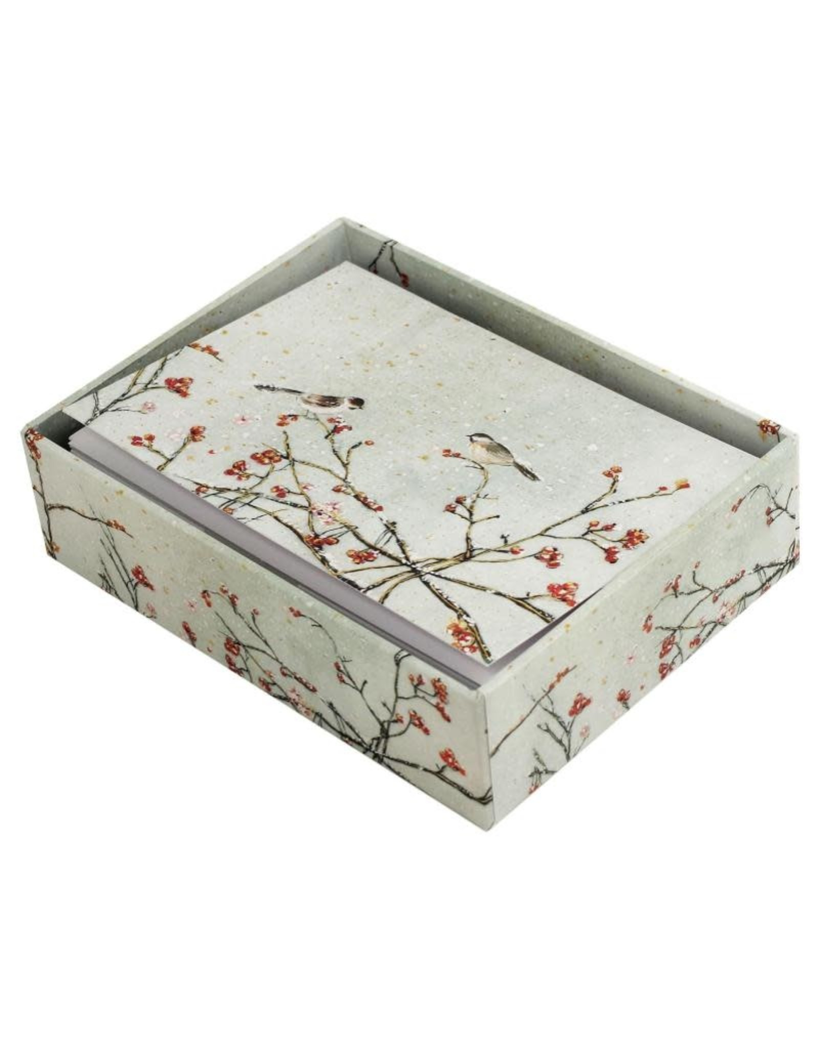 Peter Pauper Snowy Birds Boxed Holiday Cards
