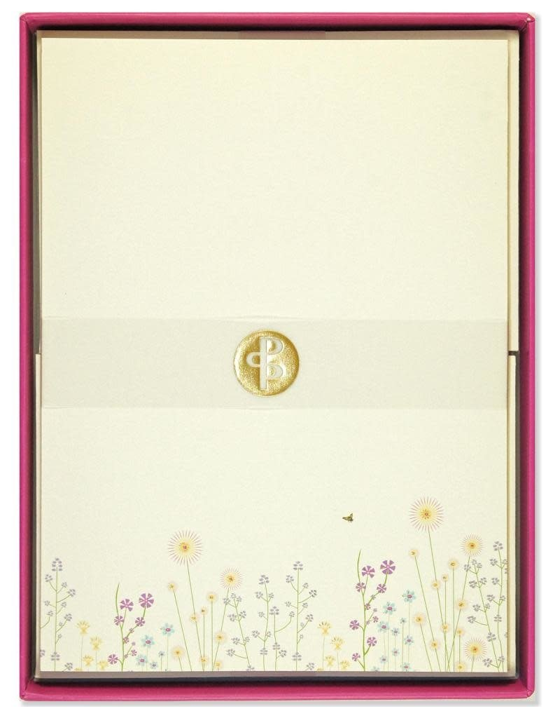 Peter Pauper Sparkly Garden Stationery