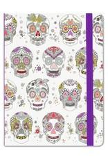 Peter Pauper Sugar Skulls Mid-Sized Journal