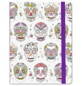 Peter Pauper Sugar Skulls Mid-Sized Journal