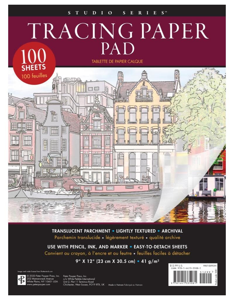 Peter Pauper Tracing Paper Pad