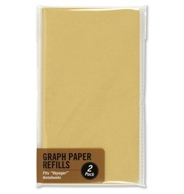 Peter Pauper Voyager Graph Paper Refill