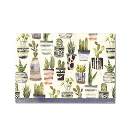 Peter Pauper Watercolor Succulents Boxed Notecards
