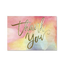 Peter Pauper Watercolor Sunset Boxed Thank You Cards