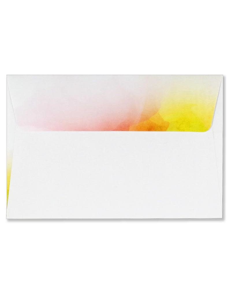 Peter Pauper Watercolor Sunset Stationery